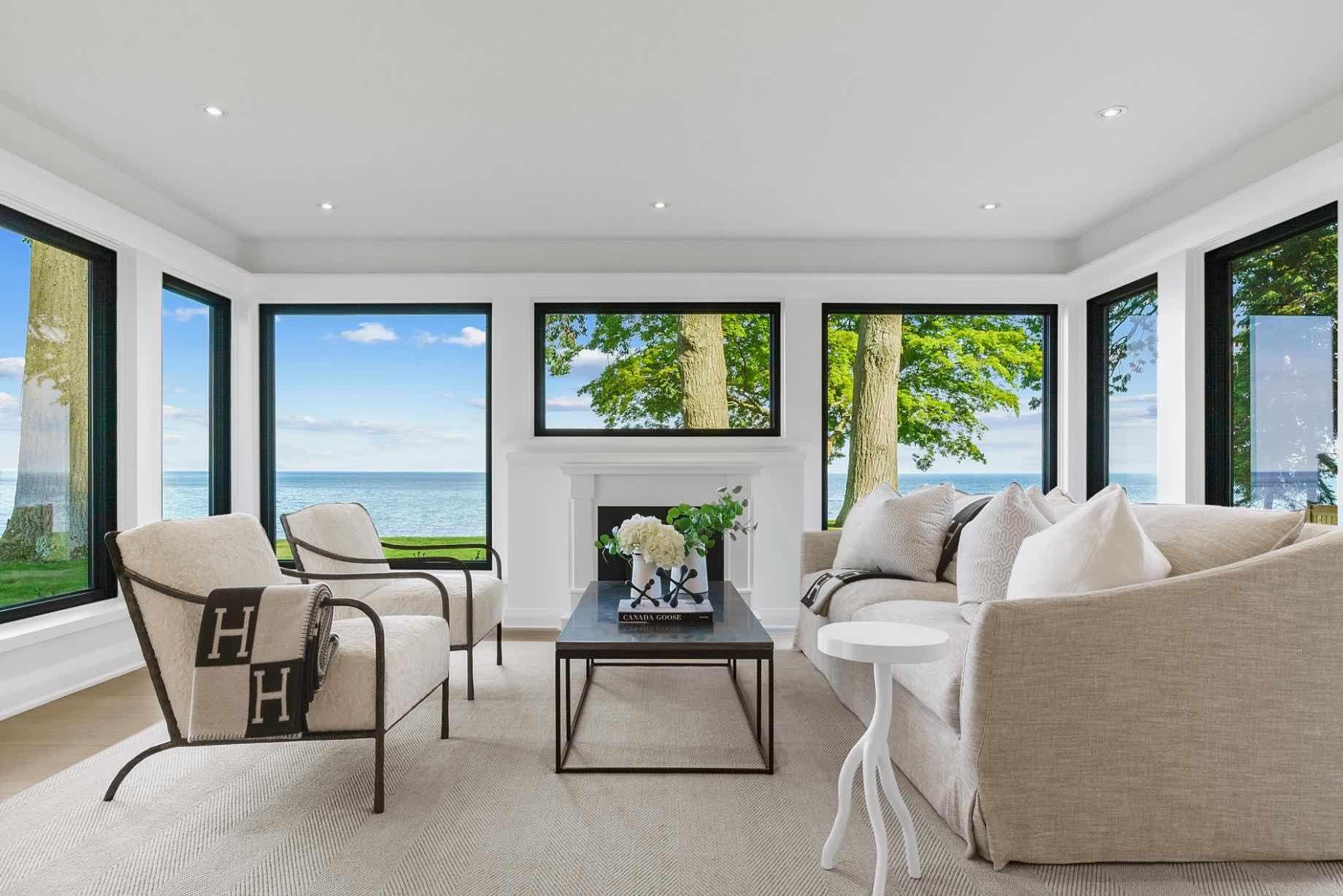 Eastpointe living room view